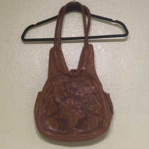 Vintage Tooled Bag